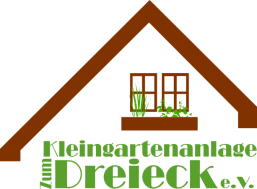 "Logo Kleingartenanlage ""Zum Dreieck"" e. V."
